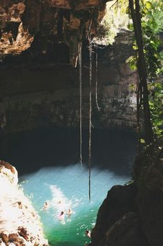Hundreds of years ago, Cenote Zaci was the primary water source for the Mayans. Now? Tourists come to play in it. From Valladolid, Mexico. Photographed by Mikee HK.