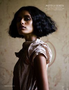 Lakshmi Menon for Vogue India 2009 #bob sharp edges