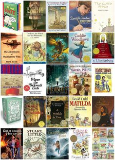 Top 50 children's books. Great reading list for this summer!