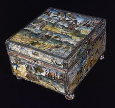 England  Writing Box, 17th century - Art Institute of Chicago