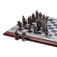 Gremlins, Goblins, & Trolls Celtic Legends Mystical Characters Chess Board Set #Unbranded