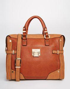 Image 1 ofDune Delta Tote Bag in Tan