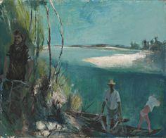 1955.36.01 Giuseppe Motti, Lungo le rive del Po