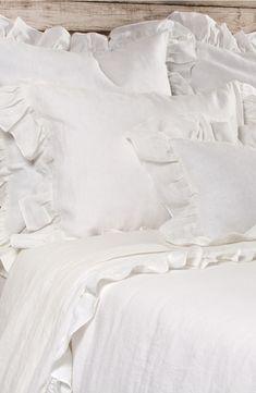 'Charlie' Linen Duvet Cover