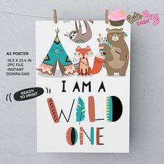 Wild one First Birthday Party invitations DIY Tribal Invitations Woodland printable Birthday invite adventure boho teepee Invitations Wild One Birthday Party, Boy First Birthday, First Birthday Parties, First Birthdays, Fall Birthday, Bear Birthday, Printable Birthday Invitations, Diy Invitations, Diy Party Decorations