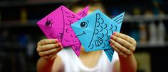 How To Fold An Origami Fish - Art for Kids Hub