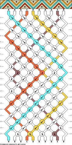 mod le bracelet br silien motif losanges plein de tutos sur ce site. Black Bedroom Furniture Sets. Home Design Ideas