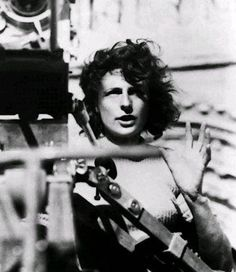 Leni Riefenstahl (August 22, 1902 – September 8, 2003) was a German film director, actress and dancer widely noted for her aesthetics and innovations as a filmmaker. Her most famous film was Triumph of the Will, a documentary film made at the 1934 Nuremberg congress of the National Socialist, or Nazi, Party. Riefenstahl's prominence in the Third Reich, along with her personal association with Adolf Hitler, destroyed her film career following Germany's defeat in World War II