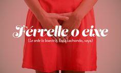 18 frases gallegas que el resto de España necesita aprender Frases Humor, Over The Moon, Cheer Skirts, Vii, Terra, Education, Funny, Fashion, Thoughts