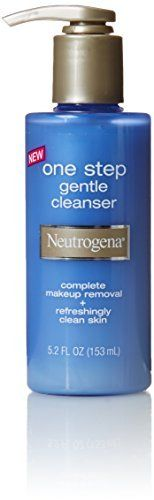 Neutrogena Gentle One Step Cleanser, 5.2 Fl Oz x Multipack of 5 >>> See this great beauty product.