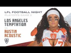 A battle to determine who advances to Legends Cup 2019 to face the Seattle Mist, as Michelle Angel and the Austin Acoustic take on the under-dog Los Angeles . Seattle Mist, Lingerie Football, Legends Football, Acoustic, Seasons, Game, Shop, Youtube, Seasons Of The Year
