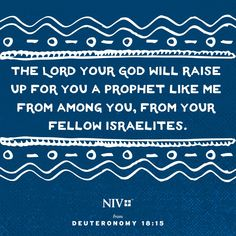 NIV Verse of the Day: Deuteronomy 18:15