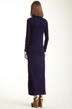 American Apparel Turtleneck Long Sleeve Maxi Dress on HauteLook