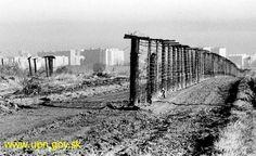 Petržalka, Bratislava - The end of iron curtain, 1989