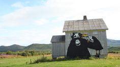 """Zooicide"" by Dolk - Lofoten islands (Norway) - Foto: John Inge Johansen / NRK"