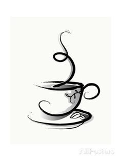 Coffee Prints by illustrart at AllPosters.com