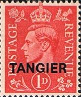 Morocco Agencies TANGIER 1944 SG 252 King George VI Fine Mint SG 252 Scott 522 Condition Fine MNH Only one post charge applied on multipule purchases