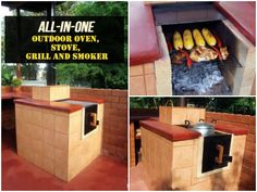 Are you the one that everyone comes to in the summer for the cook outs and the smoked meats? If so you need all in one oven, stove, grill and smoker!