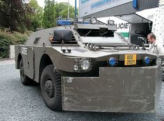 Russian BRDM used by Czech Police