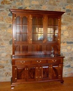Custom Made Walnut Hutch