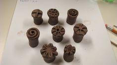 clay stamps for clay | Flickr - Photo Sharing!