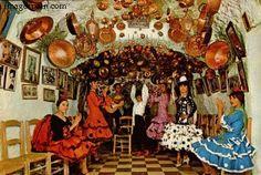 gypsy people pictures | Cueva En Sacromonte - Cave In Sacromonte, Granada - Roma People