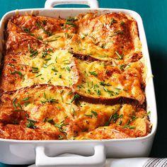 Torta de forno com ovos e queijo gruyére | 15 receitas deliciosas para arruinar sua dieta em dias frios