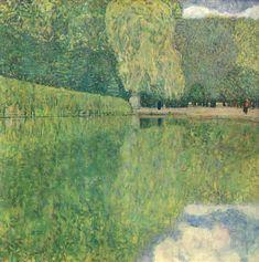 """""""Park of Schönbrunn"""" - Gustav Klimt. (1916)"""