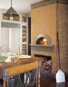 Old World Charm In Kentfield Ca Indoor Pizza