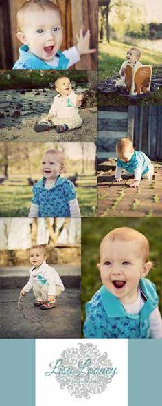 Lisa Looney Photography - Springfield, Missouri MO Photographer - 1 Year Old Photo Shoot