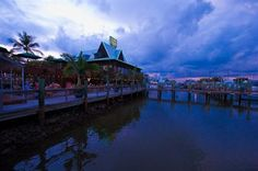Doc Ford's Fort Myers Beach Rum Bar and Grille - waterfront restaurant - Florida travel, food & drink