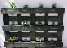 Παρατημένες παλέτες; Πρόκληση: Παρτέρια!  http://www.kangouro.gr/pallet-gardening