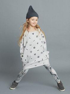 Crayon dress by Mainio Clothing - birch grey