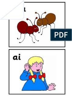 Jolly Phonic Flash Cards - Colour   PDF   Languages   Language Arts & Discipline