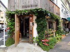 ehirde do?a Darwin Room Coffee Shop Cafe Shop Design, Cafe Interior Design, Store Design, Design Design, Small Coffee Shop, Coffee Store, Cafe Restaurant, Restaurant Design, Mini Cafe