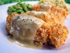 Crispy Cheddar Chicken Tenders | Plain Chicken