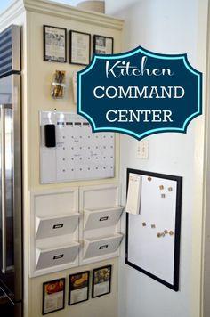 Kitchen Command Center - Family Organization