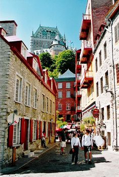 Old street of Vieux Quebec | by © Ariel Pablo