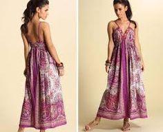 Resultado de imagem para vestidos indianos longos dia a dia