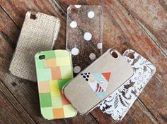 Crea tu propia funda para móvil en Manualidades y detalles para los complementos de vestir, moda y ropa