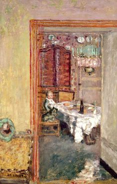 Young Boy in the Dining Room - Pierre Bonnard