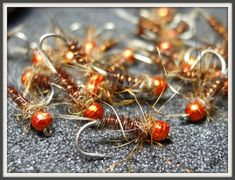 Fly Tying, Red, Fishing, November Month, Nymphs, Fall, Fly Fishing, Fly Tying Patterns, Rouge
