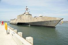 The littoral combat ship USS Independence (LCS 2)