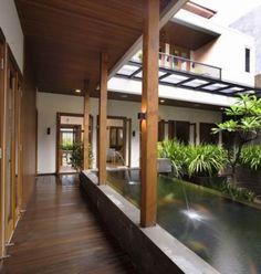 Tropical Balinese Modern House