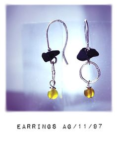 MODERNISMO collection Earrings AG1197 by Carlos Martín jewelry to ART EURYTHMIA,