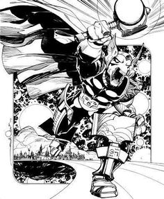 Walter Simonson's Beta Ray Bill in his run on The Mighty Thor was one of the best new characters created in the 90s