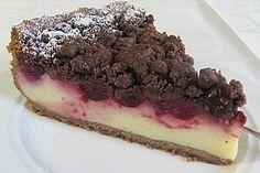 Kirsch - Pudding - Streuselkuchen 1