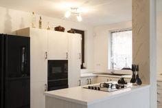 B&W Kitchen for instant style - #interiordesign #kitchen
