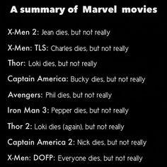 Marvel Movies Logic also the supernatural logic. And the sherlock logic. Yeah.