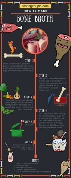 How to make bone broth how to heal leaky gut syndrome fast Healthy Soup Recipes, Diet Recipes, Bone Broth Soup, Bone Broth Paleo, Instapot Bone Broth, Bone Broth Crockpot, Bone Broth Diet Plan, Drinking Bone Broth, Homemade Bone Broth